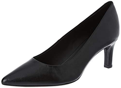 Geox D BIBBIANA A, Zapatos de Tacón Mujer, Negro (Black C9997), 35 EU