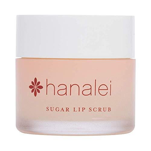Hanalei Sugar Lip Scrub Exfoliator: Dry Lip Care Made with Hawaiian Raw Cane Sugar, Hawaiian Kukui Nut Oil and Shea Butter for Dry Lips(Cruelty free, Paraben free) - 22 Grams