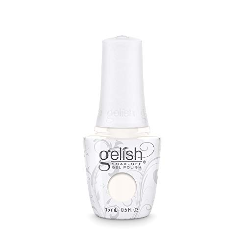 Gelish Sheek White Soak-Off Gel Polish, 0.5 oz.