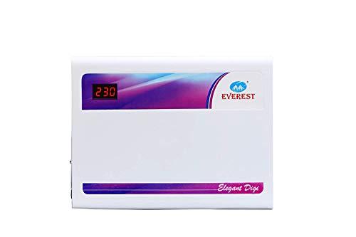 Everest EW 400 N Elegant Digi Double Booster Voltage Stabilizer Working Range (150 V to 290 V) Used...