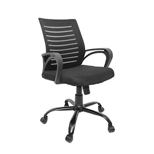 CELLBELL® C104 Medium-Back Mesh Office/Study Chair [Black]