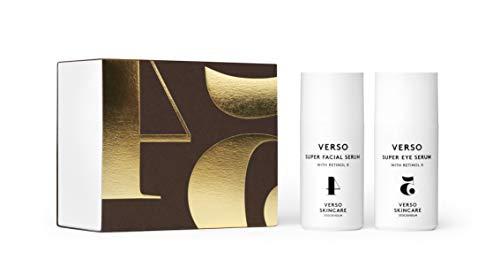 Verso Skincare | Super Serum Series | Retinol 8 Anti-Aging Duo with Super Facial Serum & Super Eye Serum | 2x1.01 oz