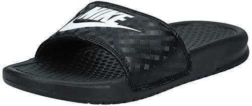 Nike Benassi, Chanclas para Mujer, Negro (Black/White 011), 42 EU