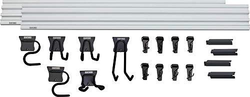CRAFTSMAN Versatrack Garage Storage System, Storage Rail with 20-Piece Mounting Accessories...