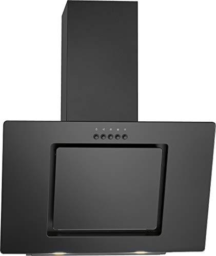 Bomann DU 7602 G Kopffreie Vertikal-Dunstabzugshaube/ 60 cm breite/ 3 Leistungsstufen/LED-Beleuchtung/schwarz
