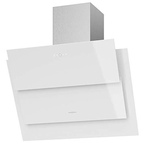 Oranier - Cappa aspirante a parete larga, 75 cm, colore: Bianco
