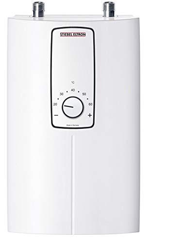 STIEBEL ELTRON elektronisch geregelter Durchlauferhitzer DCE 11/13, wählbare Leistung 11 oder 13,5 kW, Küchenspüle, 230770