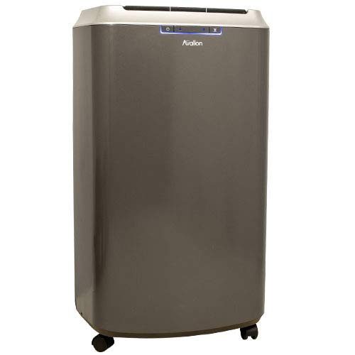 Avallon APAC140C Portable Air Conditioner with Dehumidifier and Fan for Rooms up to 525 Sq. Ft. with Remote Control