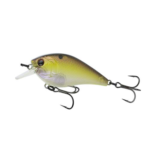 6th Sense Crush 50S Crankbait Custom Fishing Lure (Copper Green Shad)