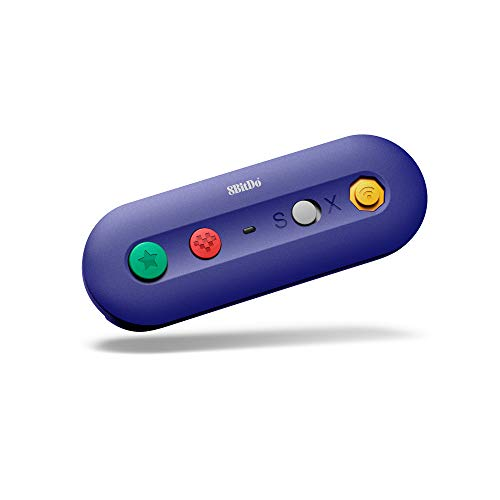 8Bitdo G Bros. Wireless Adapter for Nintendo Switch (Works with Wired GameCube & Classic Edition Controllers) (Nintendo Switch//) [Edizione: Regno Unito]