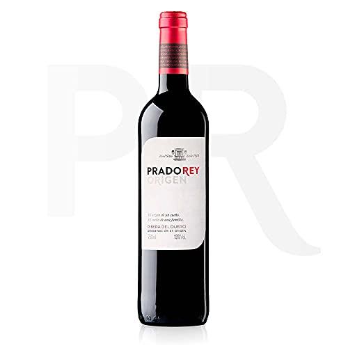 PRADOREY Roble - Vino rosso - Vino spagnolo - Roble - Ribera del Duero - 95% Tempranillo, 3% Cabernet Sauvignon, 2% Merlot - Vino novello con breve permanenza in barrique - 1 bottiglia - 0,75 l