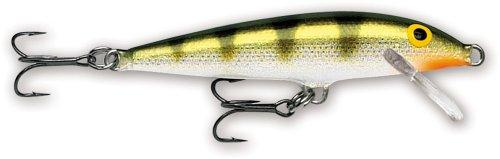 Rapala Original Floater - Esche da pesca, Unisex - Adulto, Esca da pesca, F05YP, Multicolore, Taglia unica