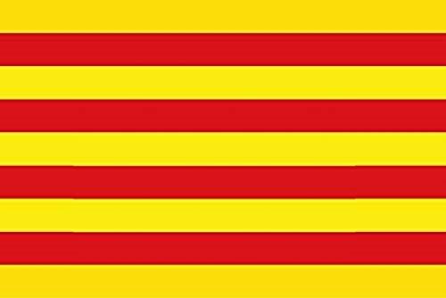 Durabol Bandera de Cataluña 150 * 90 cm Bandera de Catalunya