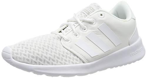adidas QT RACER, Damen Laufschuhee, Weiß (Ftwr White/Aero Pink S18/Light Granite), 40 EU (6.5 UK)