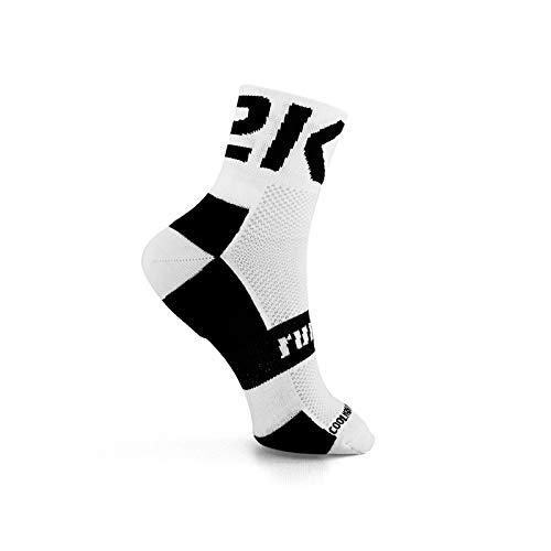 42K Running - Calza tecnica 42K MAKALU/ETNA BIANCO-NERO 39-42