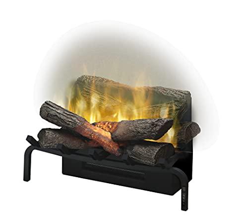 DIMPLEX Revillusion 20' Plug-In Electric Fireplace Log Set Model: RLG20), 120V, 1500W, 12.5 Amps Black
