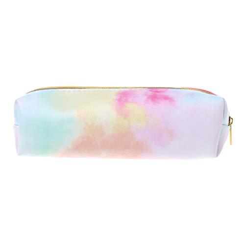 GuanjunLI - Astuccio olografico colorato, per trucchi, cosmetici, penne, cancelleria, 1 pezzo Small Random Delivery