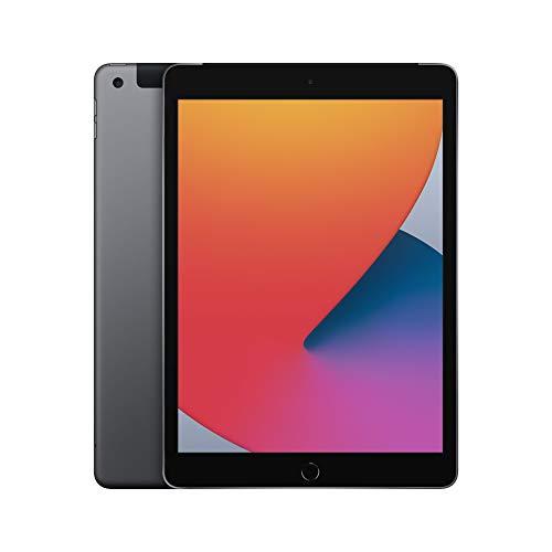 2020 Apple iPad (de 10,2Pulgadas, con Wi-Fi + Cellular y 32GB) - Gris Espacial (8.ªgeneración)