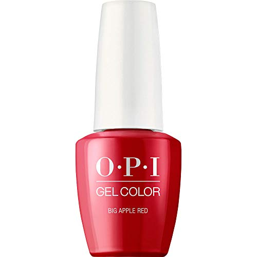 OPI GelColor Nail Polish, Red Gel Nail Polish,Big Aple Red,0.5 fl oz