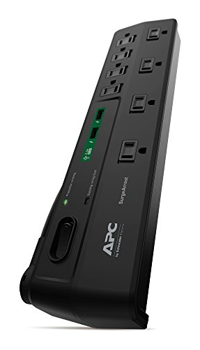 Power Strip with USB Charging Ports, Surge Protector P8U2, 2630...