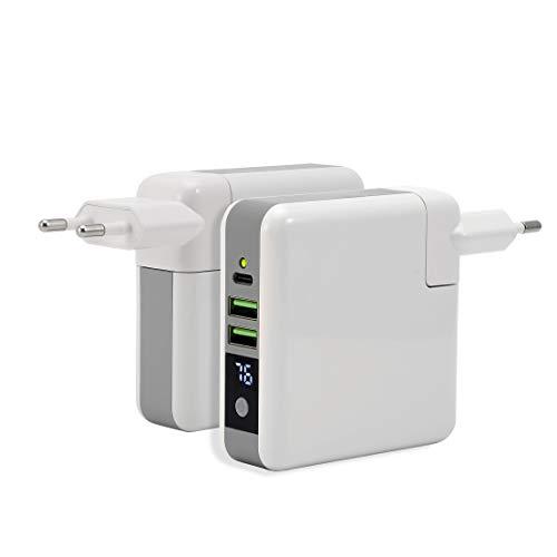 Caricabatterie a muro da Viaggio con PowerBank...