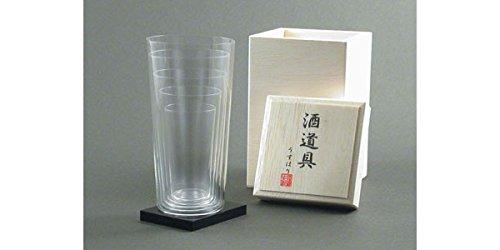Usuhari Sake Glass ss-ll taglia 5P set Japan Kitchen Product