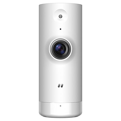 D-Link DCS-8000LH Caméra mydlink Mini HD Wi-Fi - 1280x720 - H.264 - Microphone Intégré - Filtre ICR - LEDs Infrarouge 5m - SupPort Google Assistant / Alexa / IFTTT