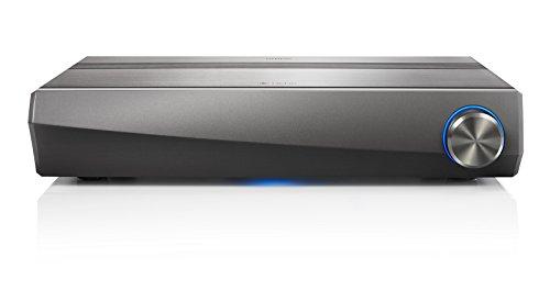 Denon HEOS AVR (5.1 AV-Receiver, Bluetooth, Amazon Music, WLAN, HDR, HDCP 2.2, ARC, Dolby TrueHD, Dolby Digital und DTS-HD Master Audio, Aluminium-Gehäuse) gun metal silber