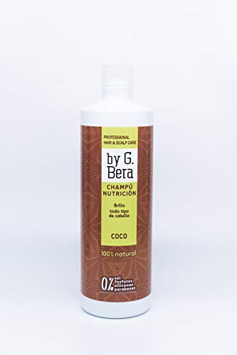Champú Coco 100% natural By G. Bera