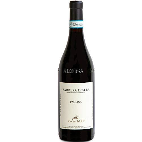 Barbera D'Alba DOC   Ca' del Baio   Paolina   Vino Rosso del Piemonte   Idea Regalo
