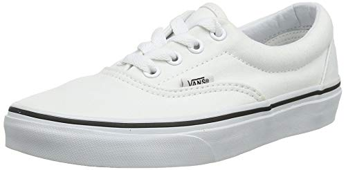 VANS Unisex Era Skate Shoes, Classic Low-Top Lace-up Style in Durable Double-Stitched Canvas and Original Waffle Outsole