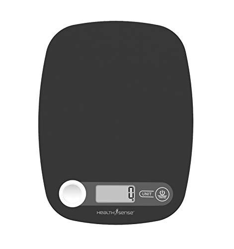 HealthSense Chef-Mate KS 40 Digital Kitchen Weighing Scale & Food Weight Machine for Health,...