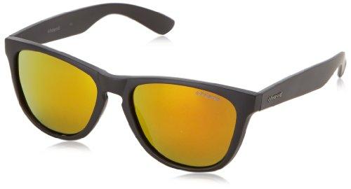 Polaroid - P8443 - Sonnenbrille Damen und Herren Rechteckig - Leichtes Material - Polarisiert - Schutzkasten inklusiv