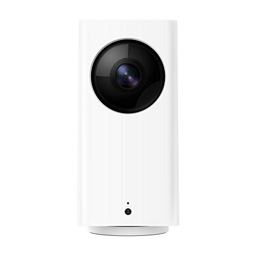 Wyze Cam Pan 1080p Pan/Tilt/Zoom Wi-Fi Indoor Smart Home Camera with Night Vision, 2-Way Audio, Works with Alexa & the Google Assistant, White - WYZECP1
