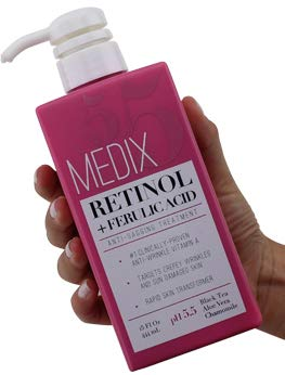 Medix 5.5 Retinol Cream with Ferulic Acid...