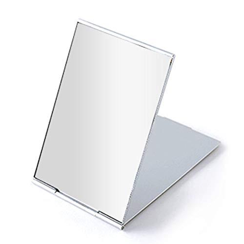 "Portable Folding Mirror, Ultra-Slim Durable Makeup Mirror, Small Tabletop Mirror for Travel,Aluminum Shell, Mini Size, 4.5"""