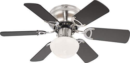 Deckenventilator mit Beleuchtung und Zugschalter Ventilator Globo UGO 0307 / 034007