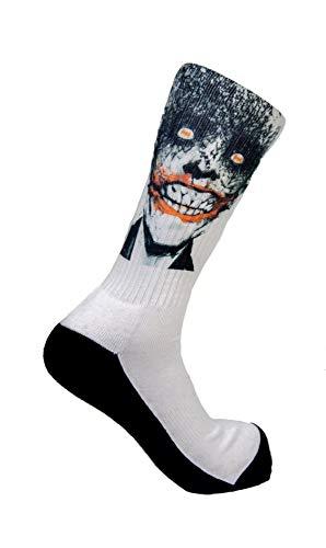 Calze sportive da tennis, calze da lavoro, calze per il tempo libero, calzini speciali Joker Face 35/37 IT