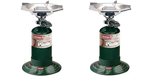 Coleman Portable Propane Burner Bottle Top Stove/Set of 2