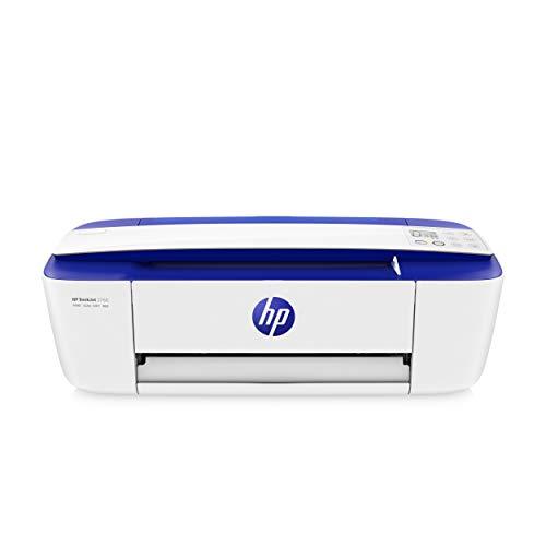 HP DeskJet 3760 T8X19B Stampante Fotografica Multifunzione A4, Stampa, Scansiona, Fotocopia, Wi-Fi, HP Smart, USB 2.0, No Stampa Fronte/Retro Automatica, 2 Mesi di HP Instant Ink Inclusi, Blu