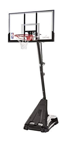 Spalding NBA Hercules Portable Basketball Hoop - 54' Acrylic...