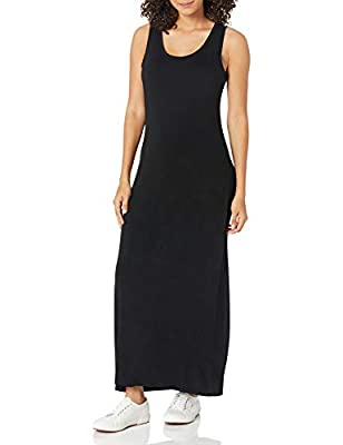 Stylish tank style sleeveless maxi dress perfect for a casual day out Made in Indonesia Everyday made better: we listen to customer feedback and fine-tune every detail to ensure quality, fit, and comfort Check out more from Amazon Essentials by visit...