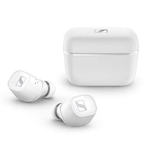 Sennheiser CX 400BT True Wireless Earbuds - Bluetooth In-Ear Kopfhörer zum Musik hören und Telefonieren - Noise Cancellation und anpassbare Touch-Control, weiß