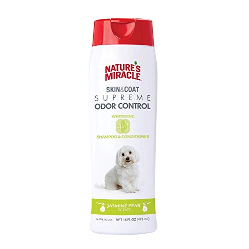 Nature's Miracle Supreme Whitening Odor Control Shampoo, 16 oz.