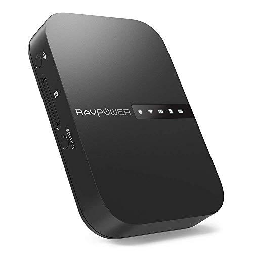 RAVPower FileHub Versione 2019, Router WiFi...