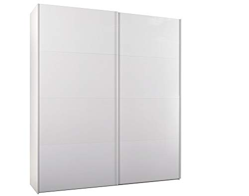 COMPOSAD Armadio scorrevole Elementi Bianco Ruvido L202 H220 cm