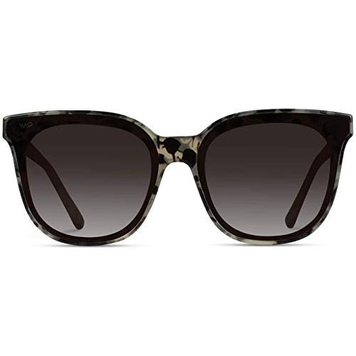 WearMe Pro – Women Oversized Full Mirrored Lens Square Fashion Style Sunglasses