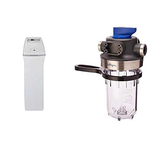 GE Appliances 40,000 Grain, GXSH40V Water Softener, Gray &...