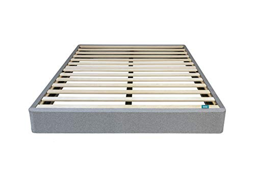 Leesa King Size Bed Mattress Foundation, Gray