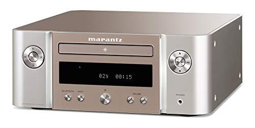 Marantz Melody (M-CR412) HiFi Anlage, CD-Player, DAB+ Radio, Bluetooth, 2 Optische TV-Eingänge, USB-Eingang, Silber-Gold